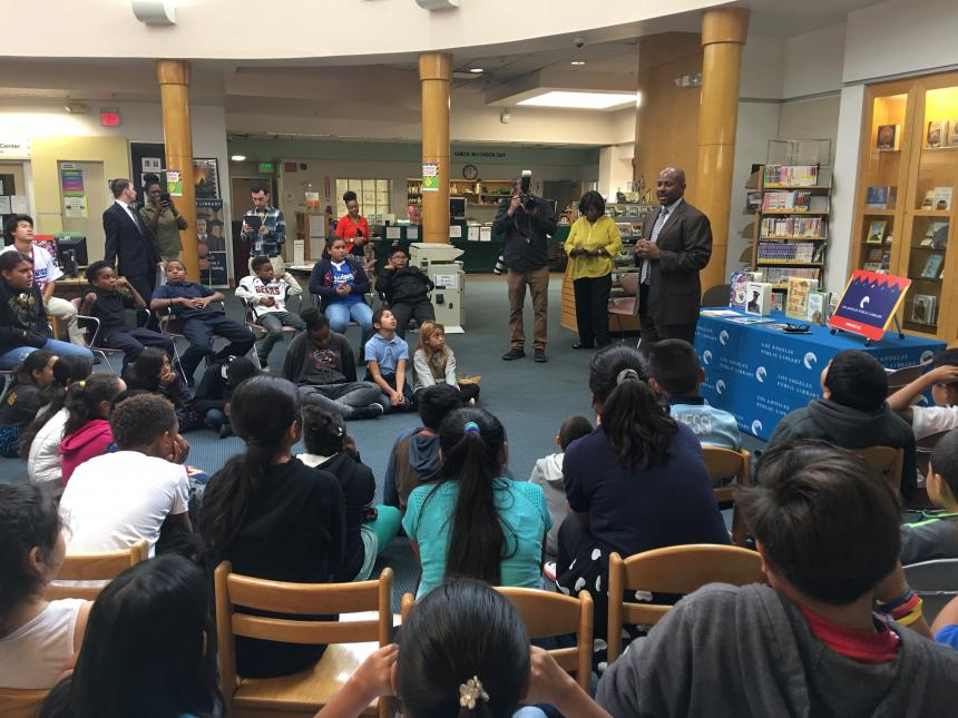 Public education reading tour hosted by los angeles county for La county public library